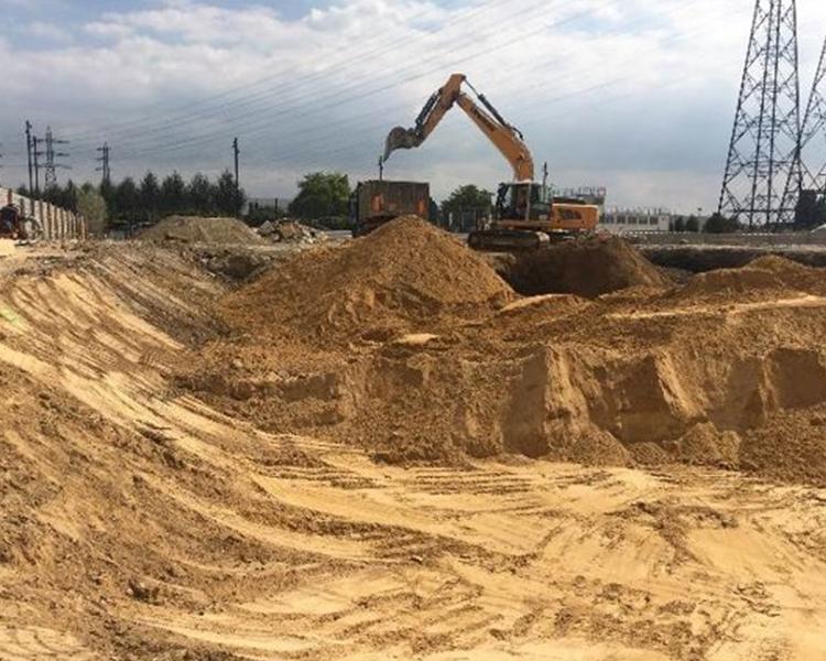 chantier de Terre - déconstruction