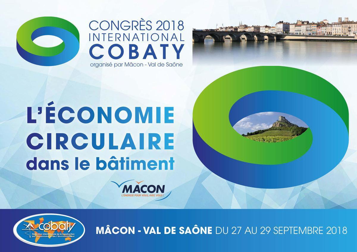 plaquette du congrès cobaty 2018