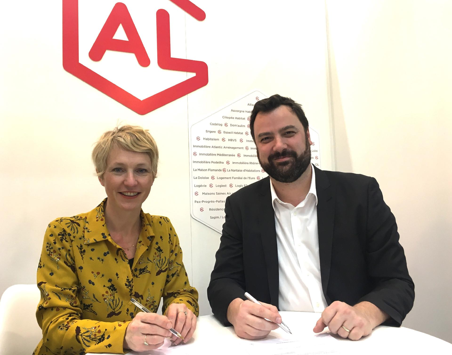 signature du partenariat avec Immobilière 3F